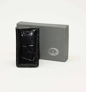 Alligator Magnetic Money Clip Black $115